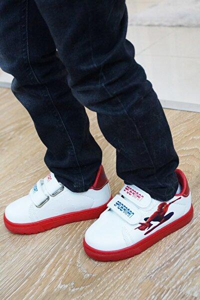 Çocuk Cırtlı Spor Ayakkabı