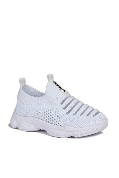 Macro Unisex Çocuk Beyaz Spor Ayakkabı