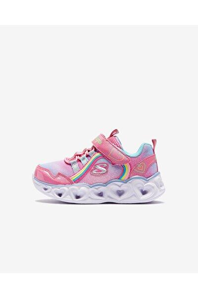 HEART LIGHTS - RAINBOW LUX Küçük Kız Çocuk Pembe Spor Ayakkabı