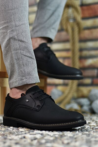 Siyah Siyah Erkek Casual Ayakkabı 0012146