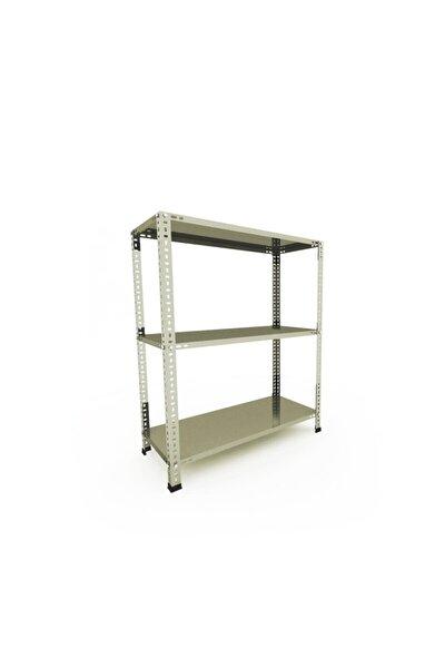 3 Katlı Galvaniz Çelik Raf 0.70 Mm-43x75-100cm