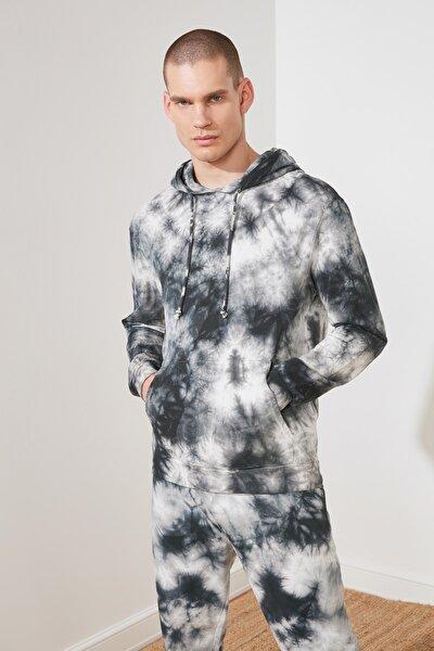 Çok Renkli Erkek Regular Fit Batik Sweatshirt TMNSS21SW0041