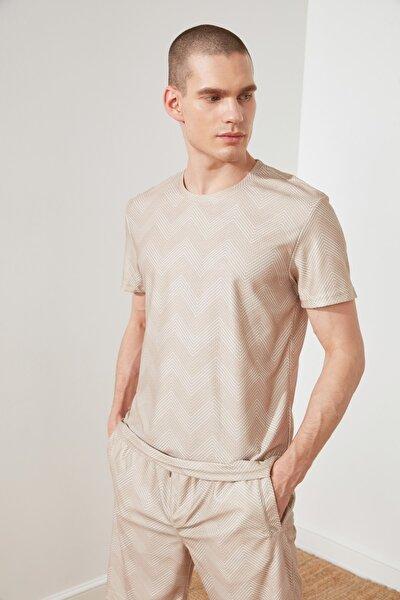 Camel Erkek Regular Fit T-Shirt TMNSS21TS0308