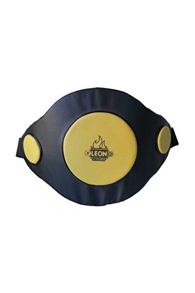 Leon Kick-boks Ve Muay Thai Bel Ve Karın Koruyucu Siyah Sarı