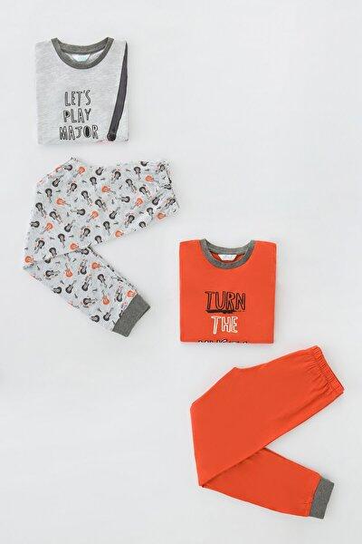 Erkek Çocuk Pijama Takımı 4lü