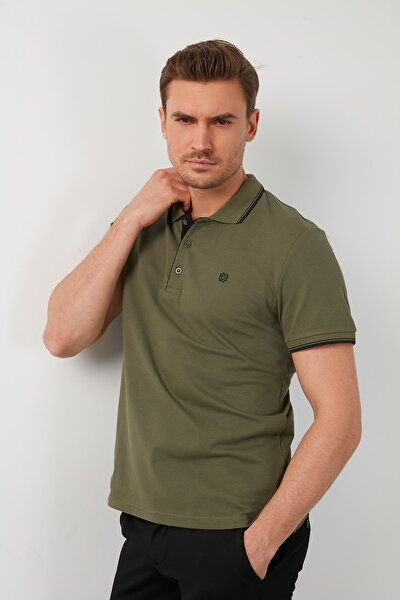 Erkek  Pamuklu Polo T Shirt  Polo 5902118