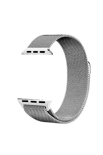 Watch 6 Kordon Hasır Örgü Metal Işlemeli 44 Mm Krd-01
