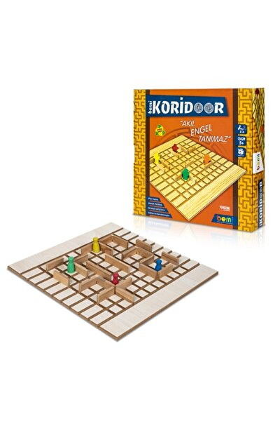 Lüks Sağlıklı Ahşap Koridoor/koridor - Akıl Hafıza Mantık Eğitici Zeka Strateji Çocuk Ve Aile Oyunu