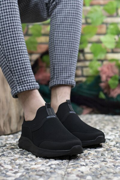 Erkek Siyah Sneaker 0012102
