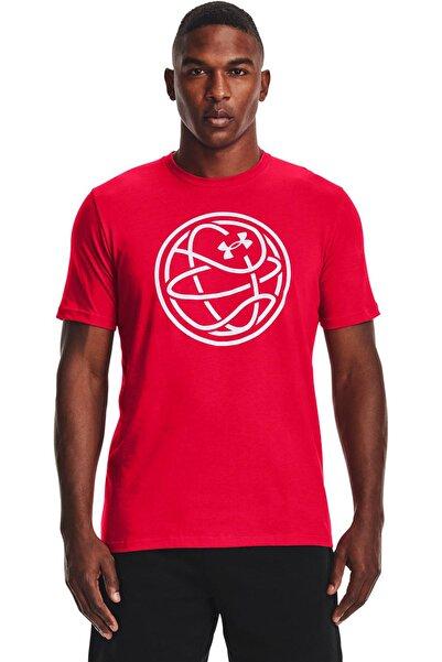 Erkek Spor T-Shirt - UA HOOPS ICON TEE - 1361920-600