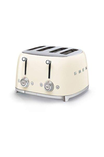 Tsf03creu Retro Krem 4x4 Slot Ekmek Kızartma Makinesi
