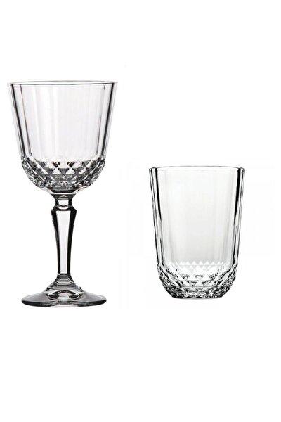 Diony Kadehli Su Bardağı Takımı 12 Prç.