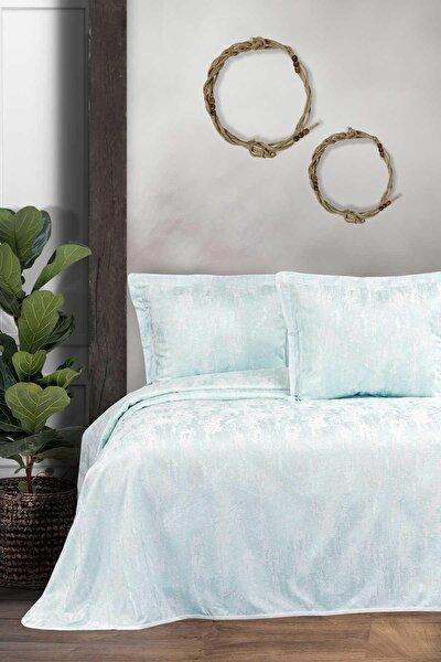 Nil Yeşili Dream Çift Kişilik Yatak Örtüsü