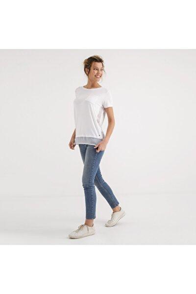 Kadın T-shirt Beyaz