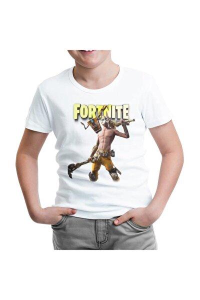 Fortnite - Psycho Beyaz Çocuk Tshirt