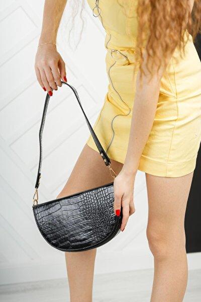 MGEMMA03 Kadın Kroko Omuz Çanta