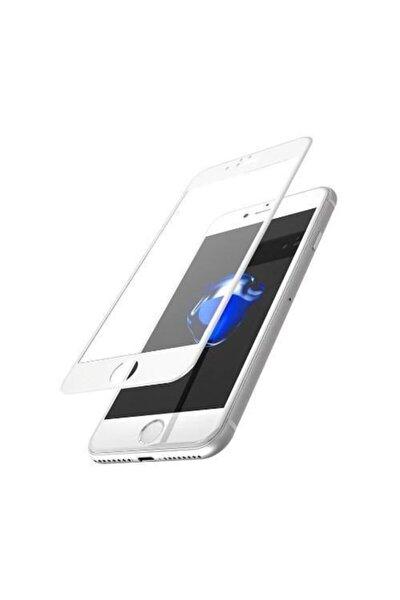 Iphone 8 Plus 7 Plus Tam Kaplayan Kırılmaz Cam Koruyucu 5d 9d Beyaz Case
