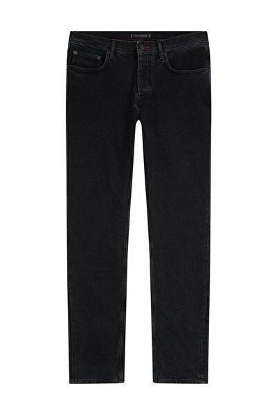 TH Erkek İcons Tapered Black Denim Pantolon MW0MW125421B4