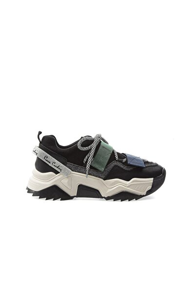 PC-30692 Siyah Kadın Spor Ayakkabı
