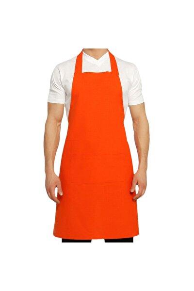 Mutfak Aşçı Bulaşıkçı Temizlikçi Garson Şef Komi Boyundan Askılı Iş Önlük