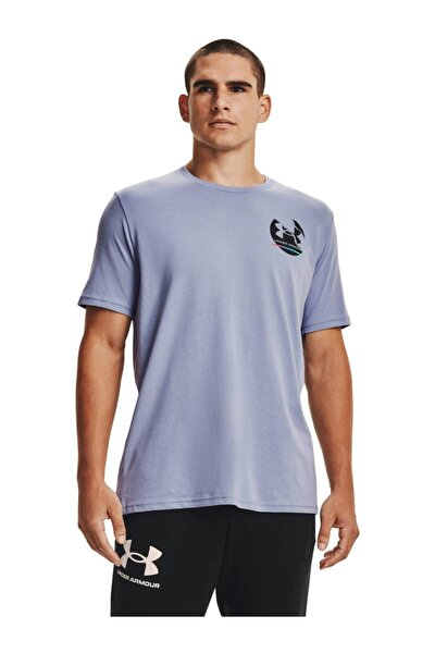 Erkek Spor T-Shirt - UA IN GYM SS - 1361681-420