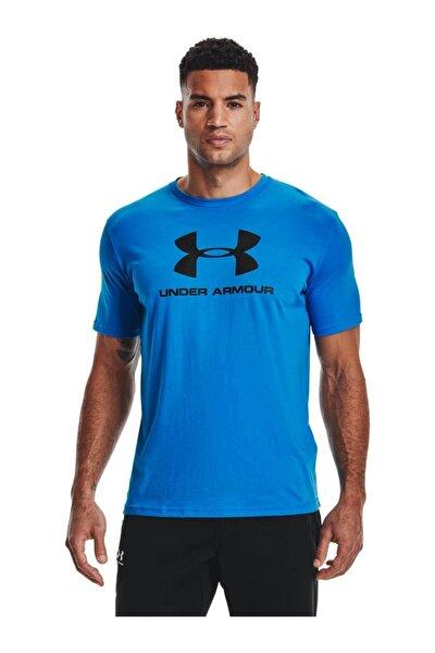 Erkek Spor T-Shirt - UA SPORTSTYLE LOGO SS - 1329590-787