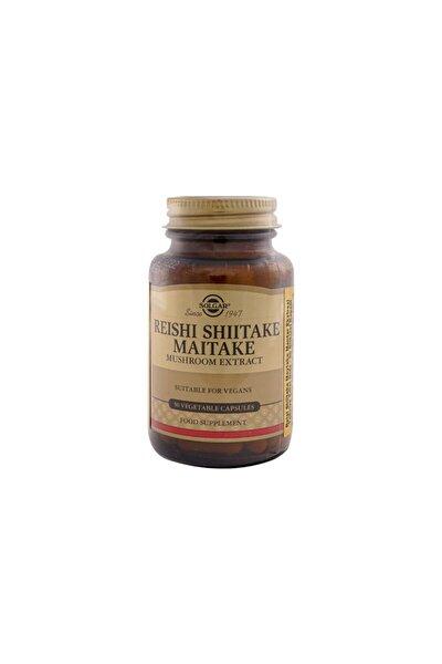 Reishi Shiitake Maitake Mushroom Extract 50 Kapsül