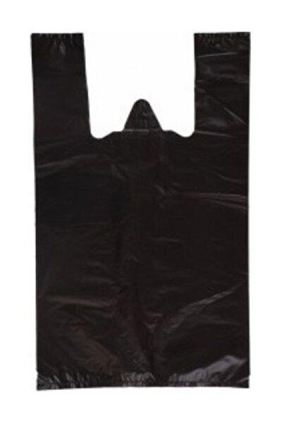 Siyah Poşet Büyük Boy Ekstra Kalın Dayanıklı 1 kg 30*55 cm