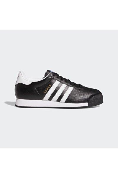 Samoa Leather Erkek - Kadın Siyah Spor Ayakkabı (019351)