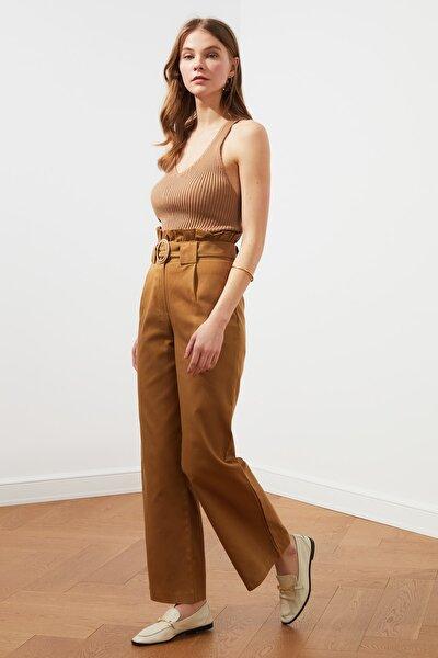 Camel Kemerli Pantolon TWOSS21PL0163