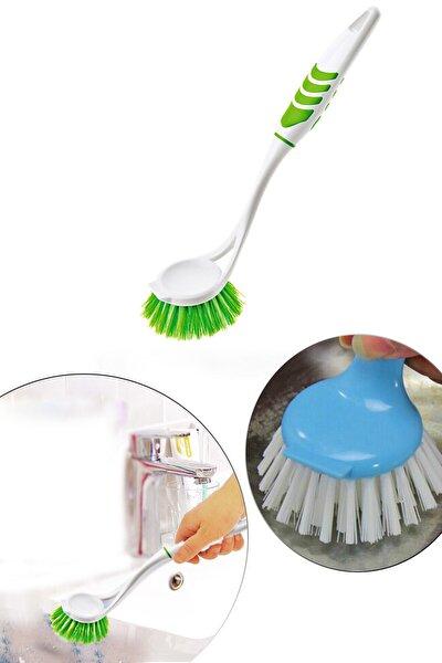 Pratik Lavabo Fırçası Plastik Lavabo Bulaşık Fırçası