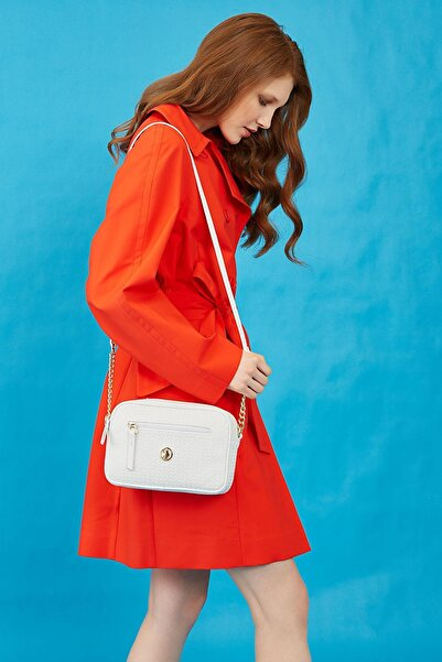 Kadın Beyaz Çapraz Çanta