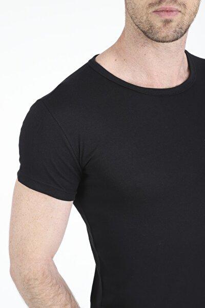 Erkek Siyah Basic Tshirt