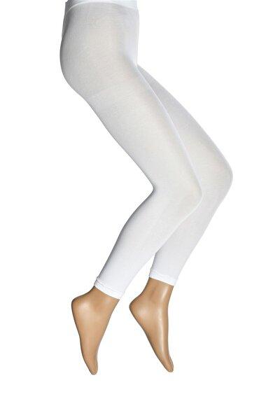 Mikro 70 Tayt Kadın Çorap Beyaz / 10