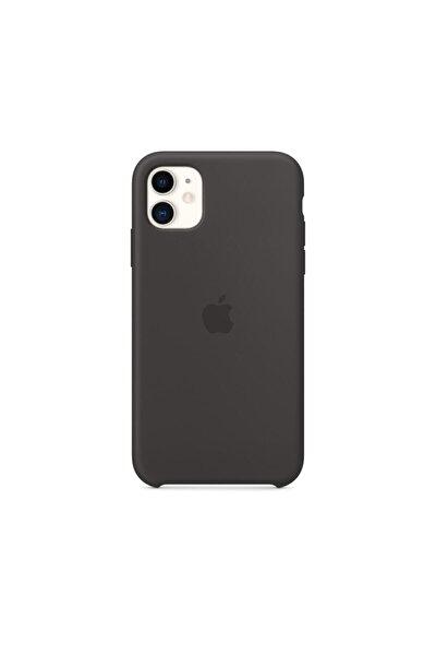 Siyah Iphone 11 Uyumlu Silikon Kılıf