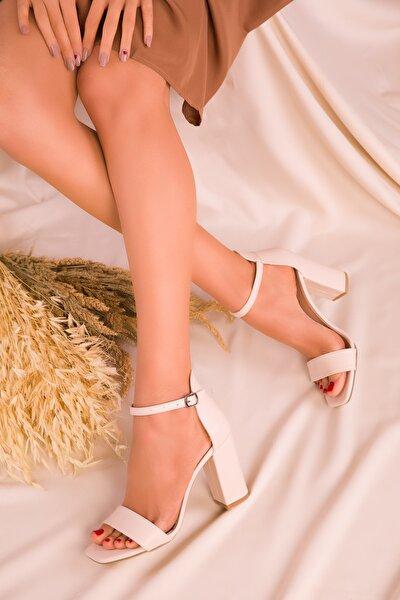 Ten Kadın Klasik Topuklu Ayakkabı 15976