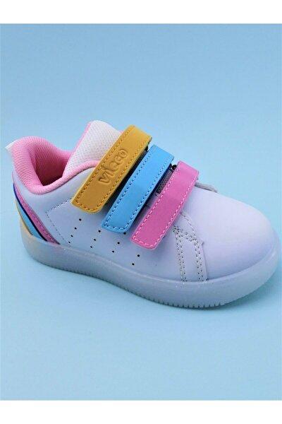 Kız Çocuk Beyaz Spor Ayakkabı