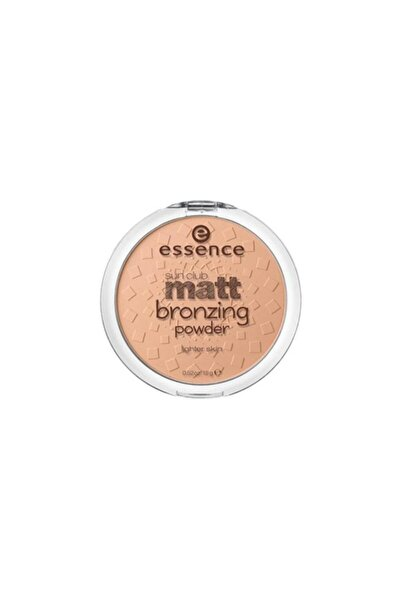 Sun Club Matt Bronzing Powder 01. Natural
