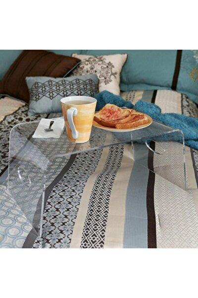 Çok Amaçlı Yatak Koltuk Sehpası 40 × 35 Cm