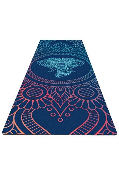 Yoga - Yoga Matı / Pilates Matı183cmx68cm 5 Mm 2 Farklı Desen Desen 2