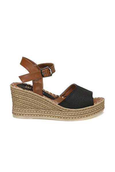 MELİSSA 1FX Siyah Kadın Dolgu Topuklu Sandalet 101045554