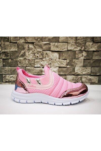 Kız Çocuk Pembe Günlük Spor Ayakkabı