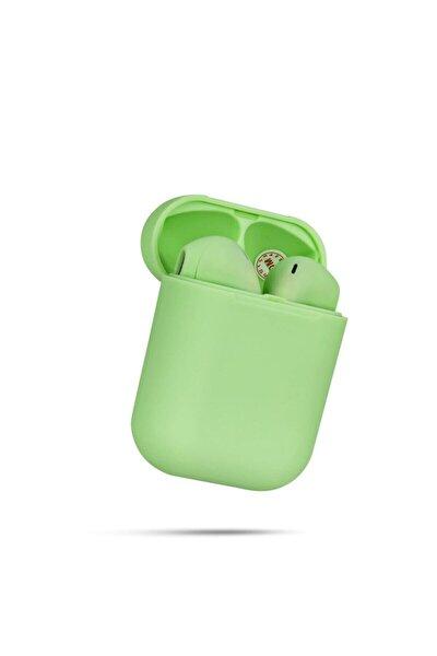Airpods I12 Yeşil Bluetooth Kulaklık Tüm Telefonlar Ile Uyumlu