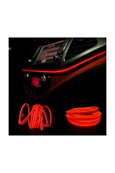 Araç Içi Torpido Ledi - Ip Led - Neon Led - Şerit Led / Kırmızı