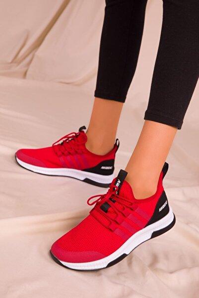 Kırmızı Kadın Sneaker 15195