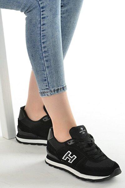 Kadın Siyah G Peru Nubuk Deri Spor Ayakkabı 102 19250