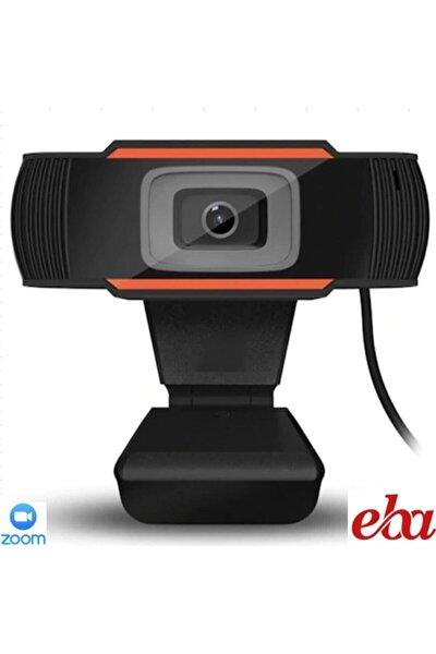 Webcam Eba Zoom Skype Pc Kamera Mikrofonlu 720p Usb Tak Çalıştır