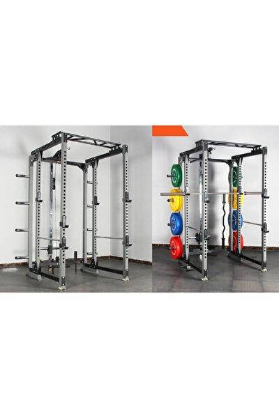 Ayarlanabilir Çok Fonksiyonlu Rack Kafesi- Squat Rack Pro-2093