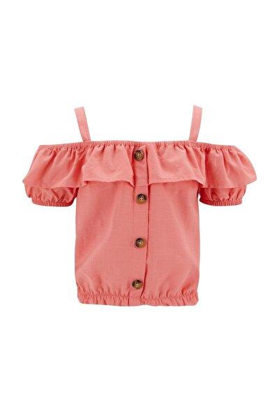 Kız Çocuk Omuzu Açık Bluz