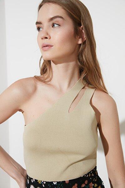 Taş Askılı Triko Bluz TWOSS21BZ0359